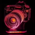 چراغ خواب سه بعدی طرح دوربین عکاسی کد chkh-012