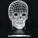 چراغ خواب  سه بعدی طرح اسکلت کد CHKH-0018