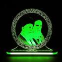 چراغ خواب سه بعدی طرح چهره رهبر کد CHKH-025