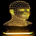چراغ خواب سه بعدی طرح صورت کدCHKH-032