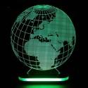 چراغ خواب سه بعدی طرح کره زمین کدCHKH-036