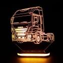 چراغ خواب سه بعدی طرح ماشین IVECO کد CHKH-039
