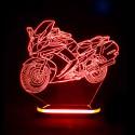 چراغ خواب سه بعدی طرح موتور سیکلت کد CHKH-042