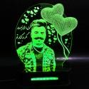 چراغ خواب چهره طرح قلب کد CHKCH-01
